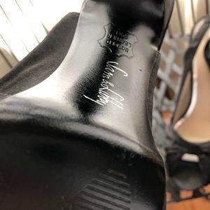 Sam & Libby Shoes - Black Satin Bow High Heels